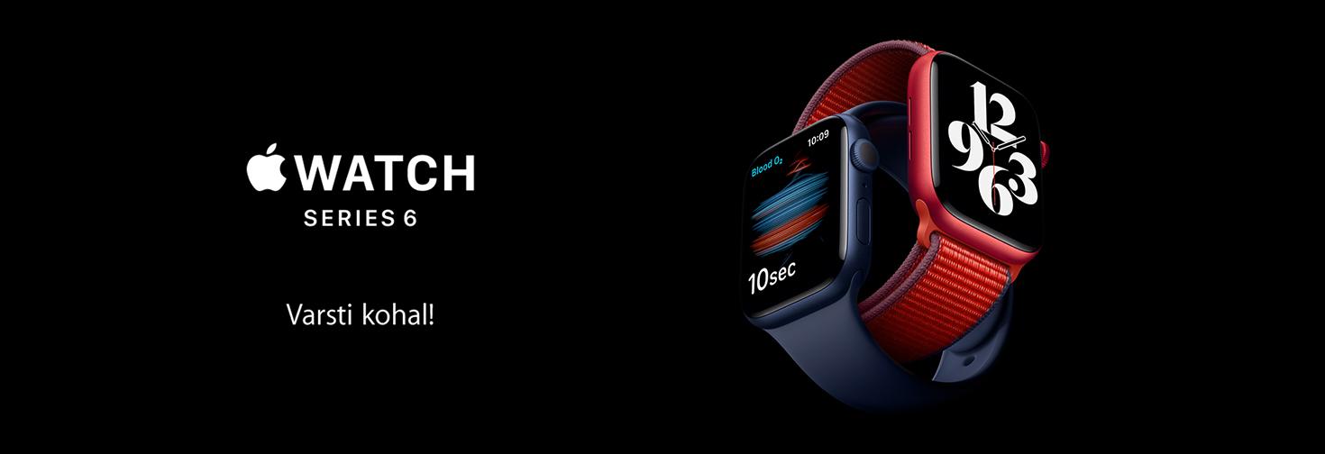 MP Apple avalikustas uued nutikellad: Apple Watch Series 6 ja Apple Watch SE