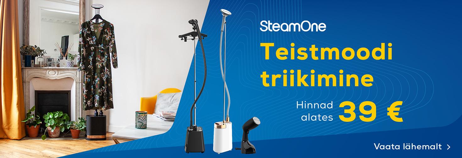 PL SteamOne rõivaaurutid Euronicsis nüüd alates 39€
