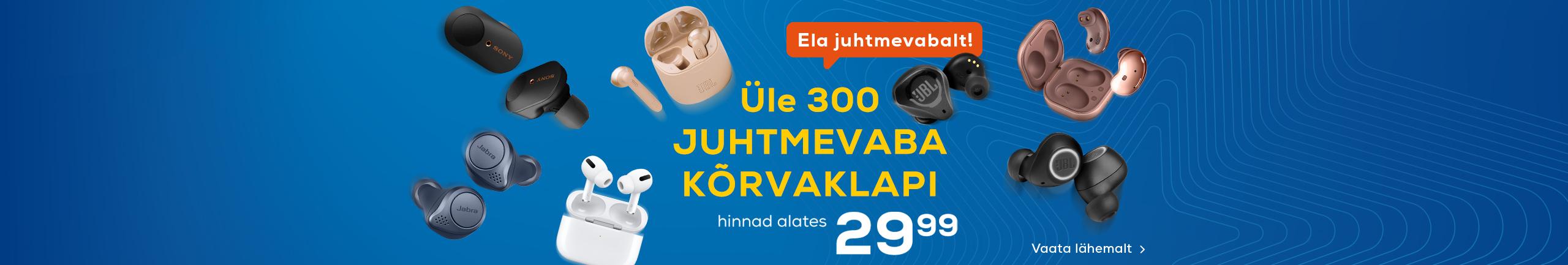 FPS Enam kui 300 juhtmevaba kõrvaklappi!
