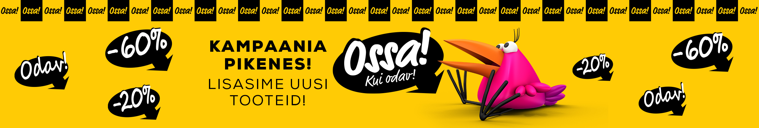 FronPageLarge Ossa extended 2021!