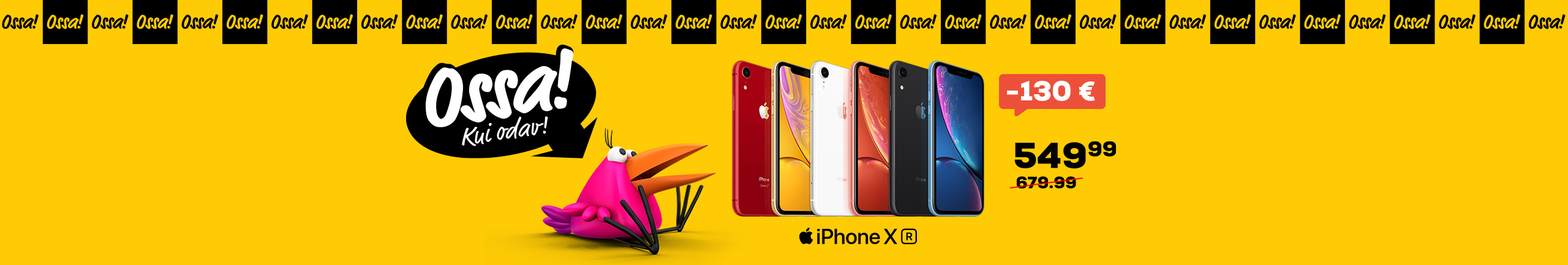 New Front Page Slider Ossa iPhone XR