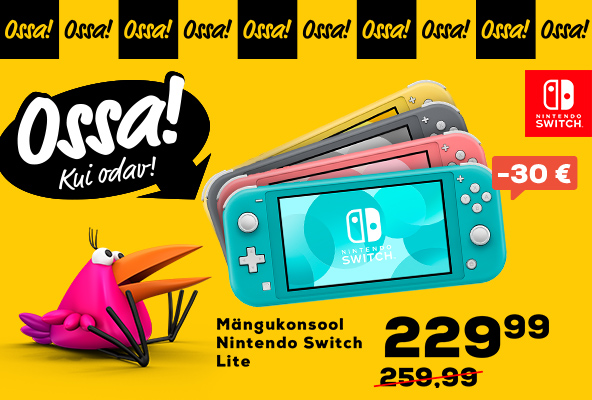 New FPMedium Ossa Nintendo Switch Lite