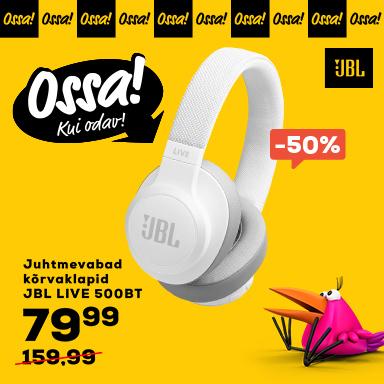 FrontPageSmall Ossa JBL Juhtmevabad kõrvaklapid JBL LIVE 500BT