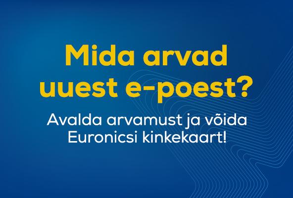 Euronicsi uue e-poe tagasisideküsitlus