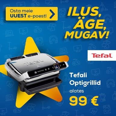 FrontPageSmall Uuenenud Euronics e-poe eripakkumised- Tefal Optigrillid alates 99€