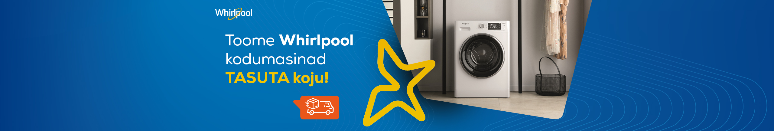 Free delivery for Whirlpool home appliances