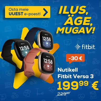 NPL Uuenenud Euronics e-poe eripakkumised , Fitbit Versa 3