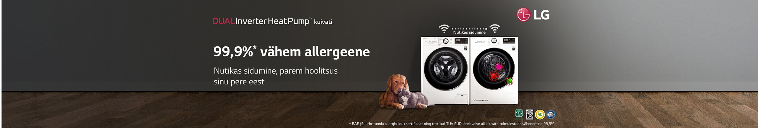 Discover LG dryers