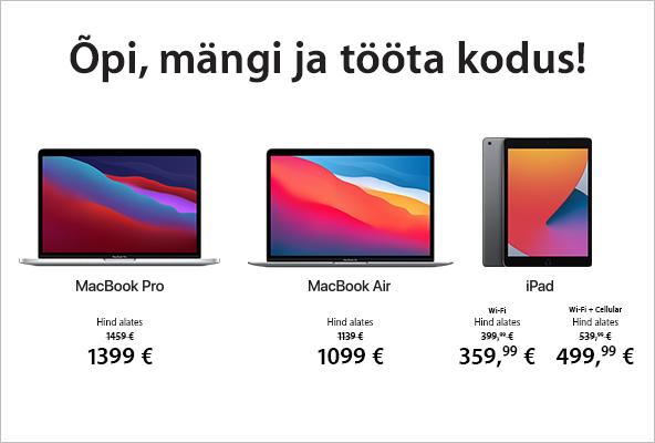 FPM Apple MacBook'i ja iPadi eripakkumised