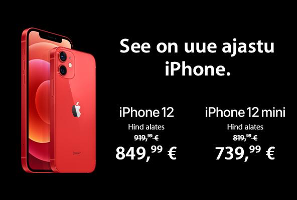 FPM Apple iPhone 12 ja iPhone 12 mini eripakkumine