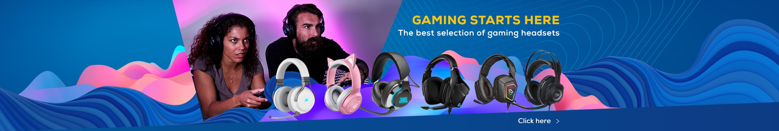 NPL gaming products: The best selection of gaming headsets