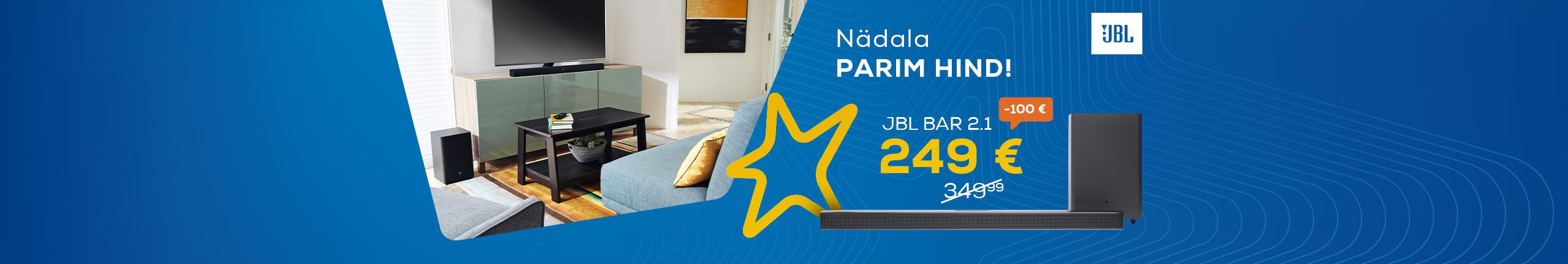 FPS Nädala parim hind! JBL Soundbar 2.1
