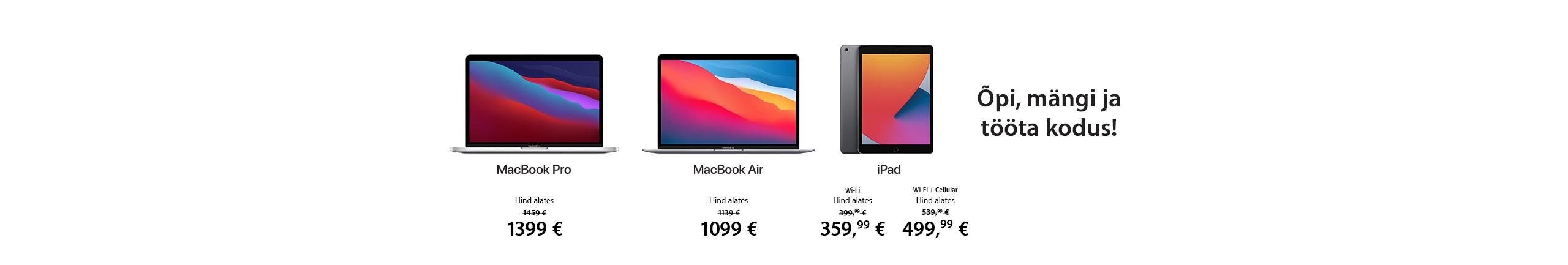 FPS Apple MacBook'i ja iPadi eripakkumised