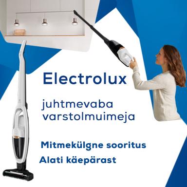 Cordless Electrolux vacuum stick