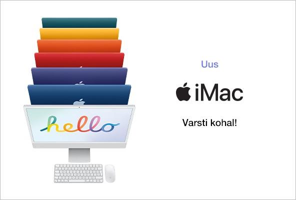 FPM Apple iMac Varsti kohal!