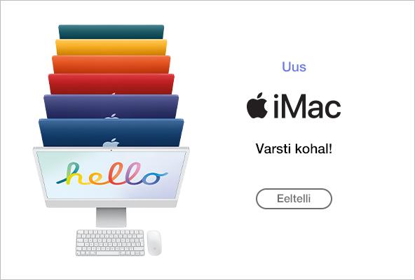 FPM Apple iMac Varsti kohal! Eeltelli