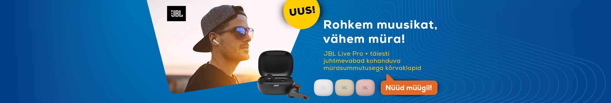 NPL JBL Live Pro+ (mürasummutavad kõrvasisesed klapid)