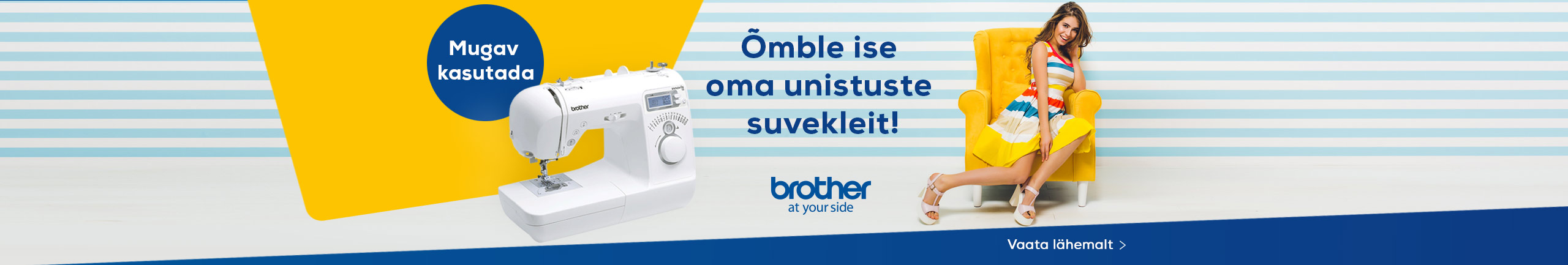 Discover Brother sewing machine
