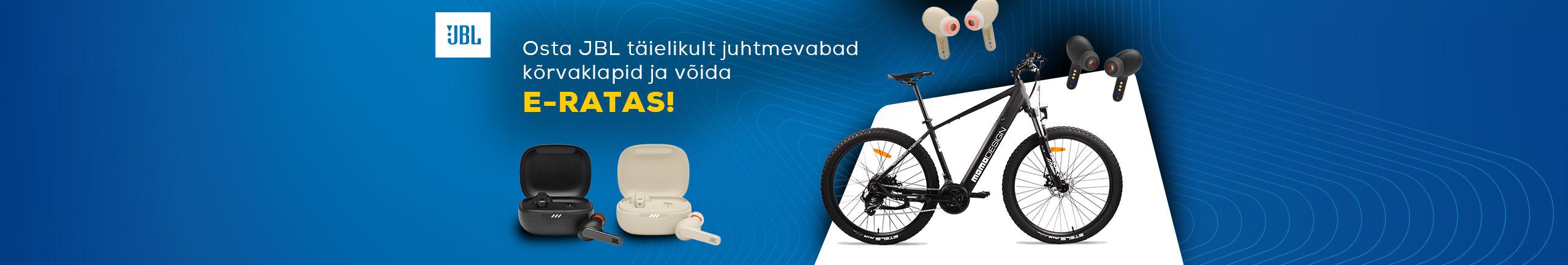 Osta JBL täielikult juhtmevabad kõrvaklapid ja võida e-ratas