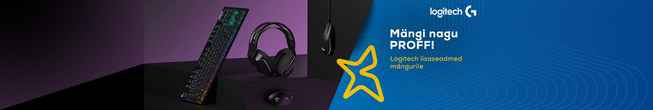 Play like a pro! Logitech devices for gamers