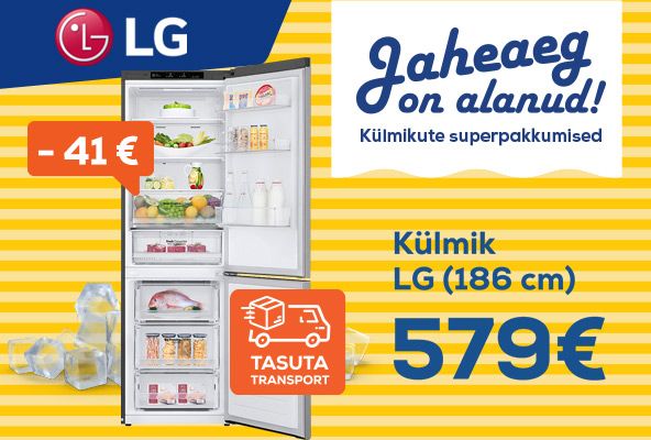 Free delivery for the selected refrigerators! LG