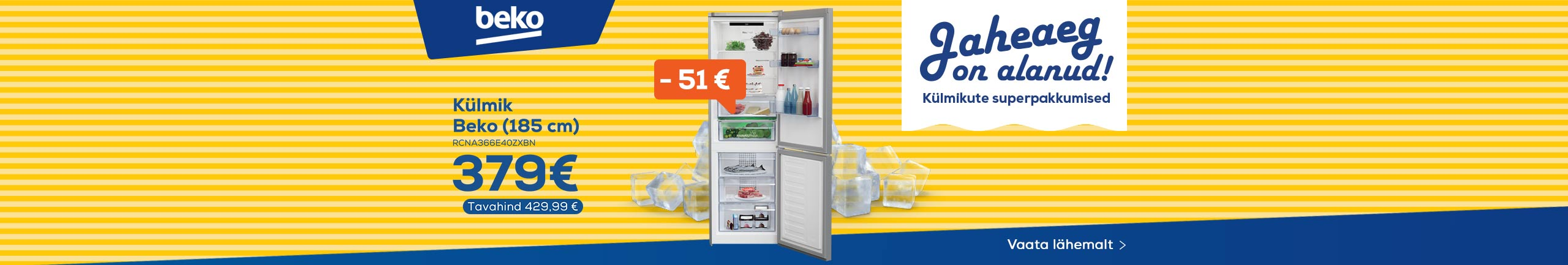 FPS Cooling time! Refrigerator special offers, Beko