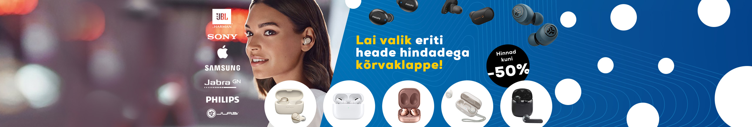 Lai valik eriti heade hindadega kõrvaklappe!