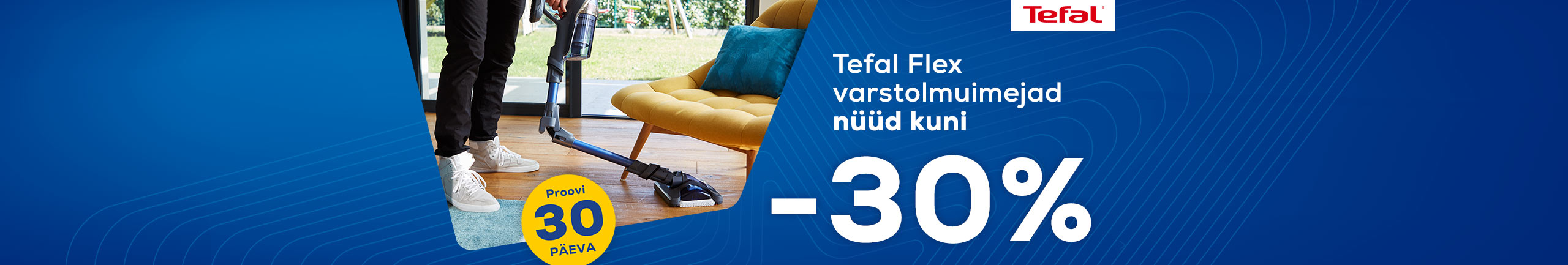 Tefal Flex handheld vacuum cleaners now up to -30%