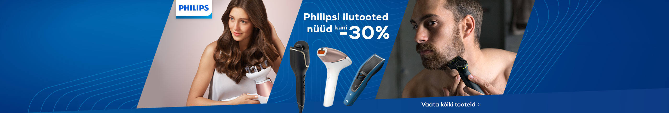 Philips beauty products now up to - 30%