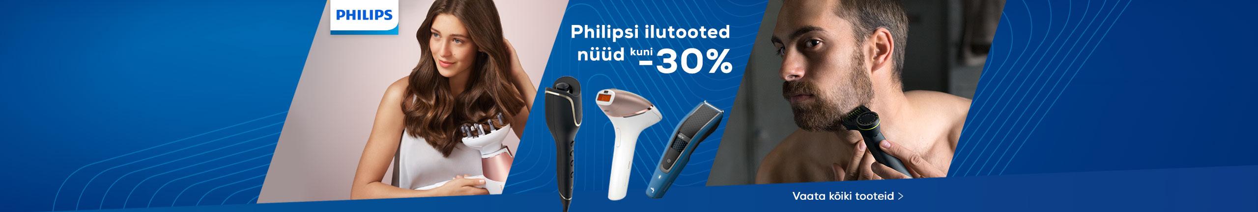 Philips ilutooted nüüd kuni -30%