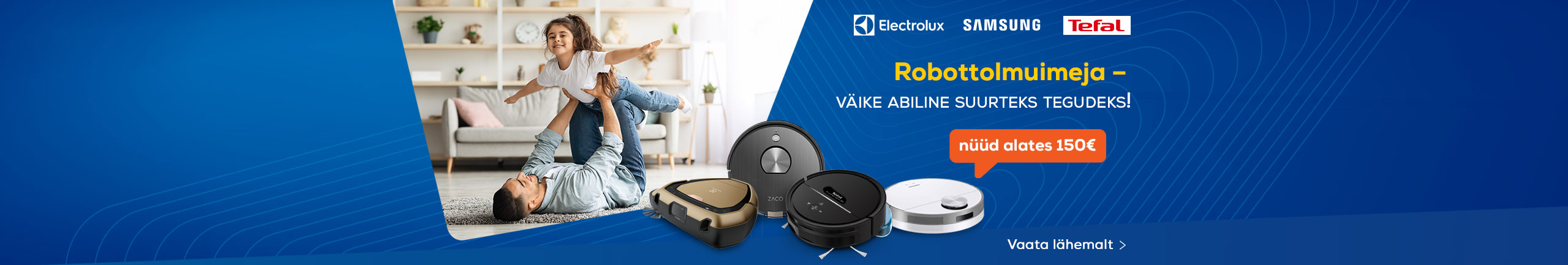 Small helper ready for big work - discover robot vacuum cleaner