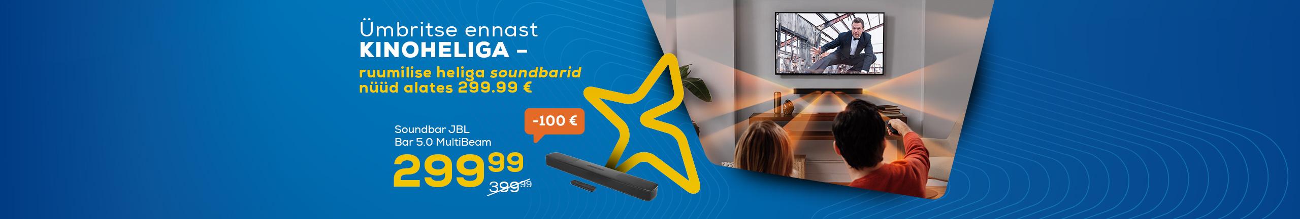 Surrond soundbars now from 299,99€