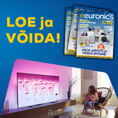 Read Euronics magazine and win a Philips TV