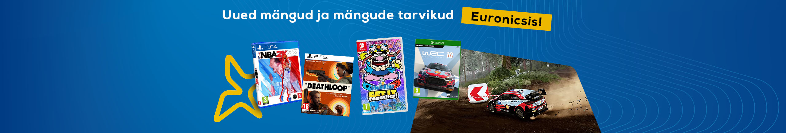 New games and gaming accessories in September!
