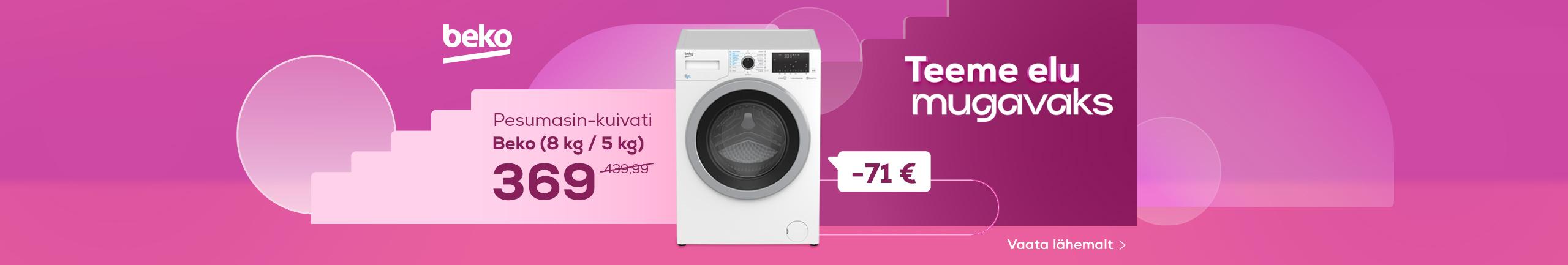 NPL We make life easy! Washing machine-dryer Beko