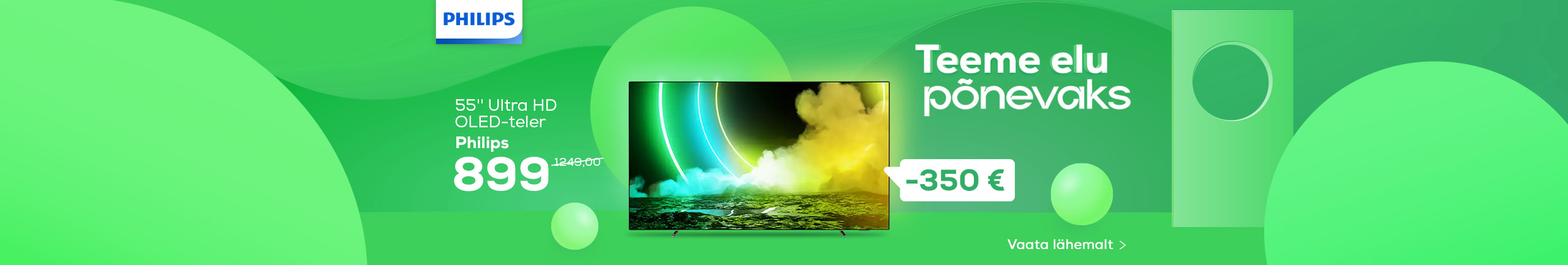 NPL Teeme elu lihtsaks, Philips TV