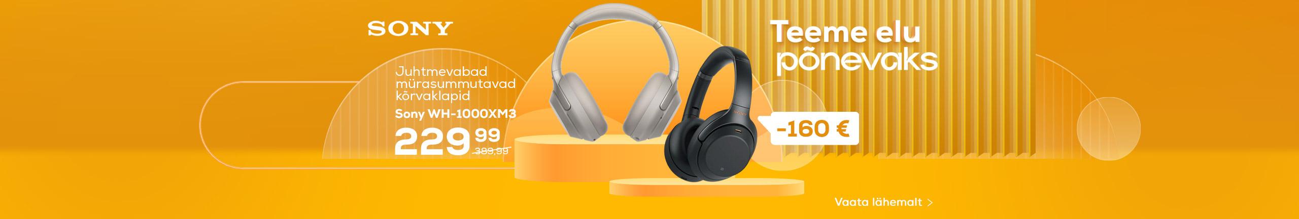 NPL Teeme elu lihtsaks, juhtmevabad kõrvaklapid Sony