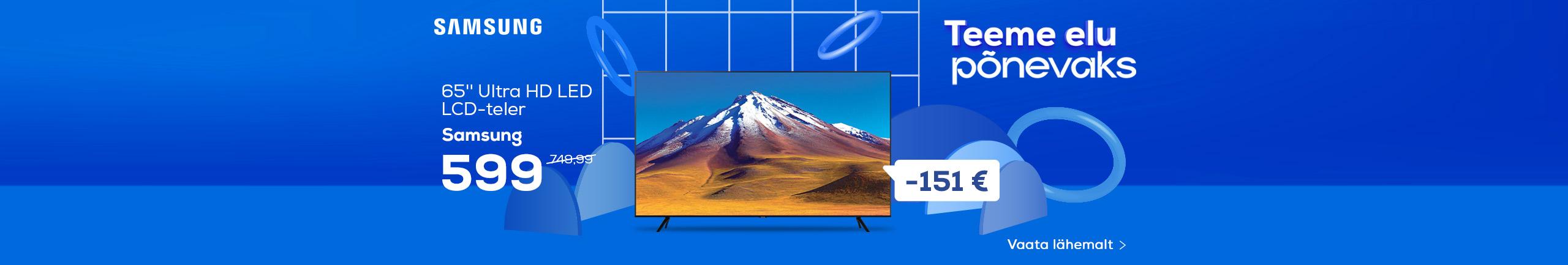 NPL Teeme elu lihtsaks, Samsung TV