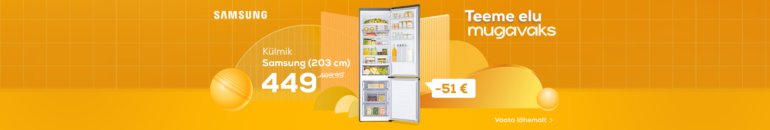 NPL We make life easy! Refrigerator Samsung
