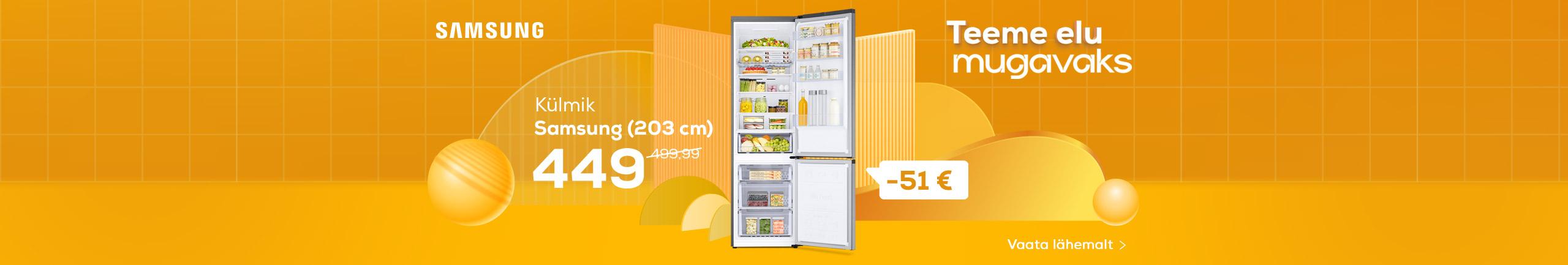 NPL Teeme elu lihtsaks, Samsung külmik