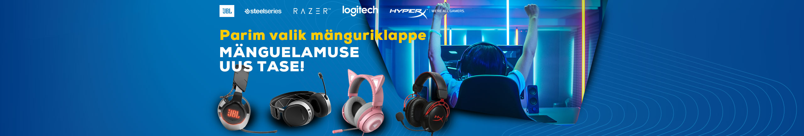 The best selection of gaming headphones!