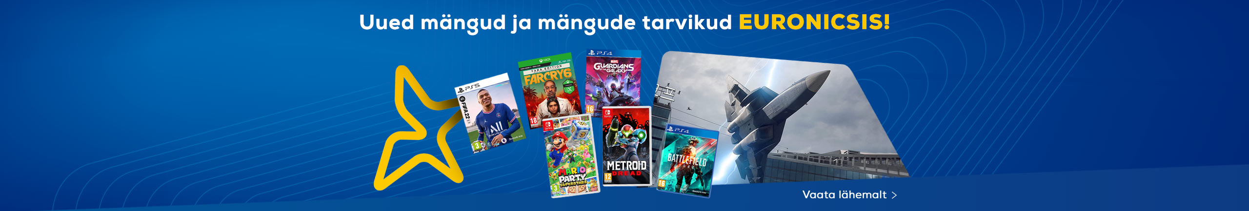 New games and gaming accessories in October!