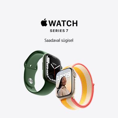 FPSmall Apple Watch 7 varsti kohal
