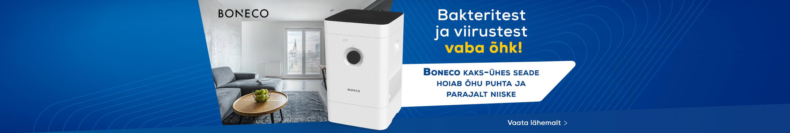 Boneco kaks-ühes seade hoiab õhu puhta ja parajalt niiske