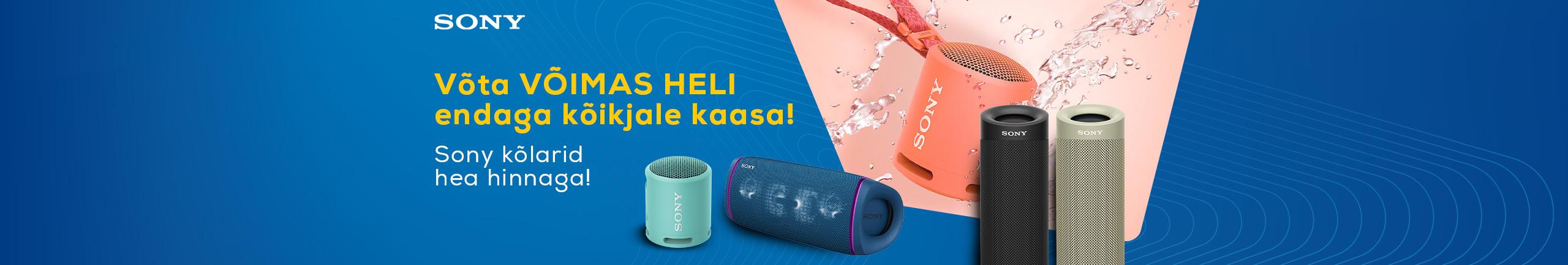 Sony speakers discount!