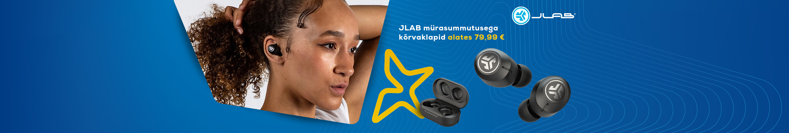 Jlab headphones with noise-cancellation starting from 79,99€