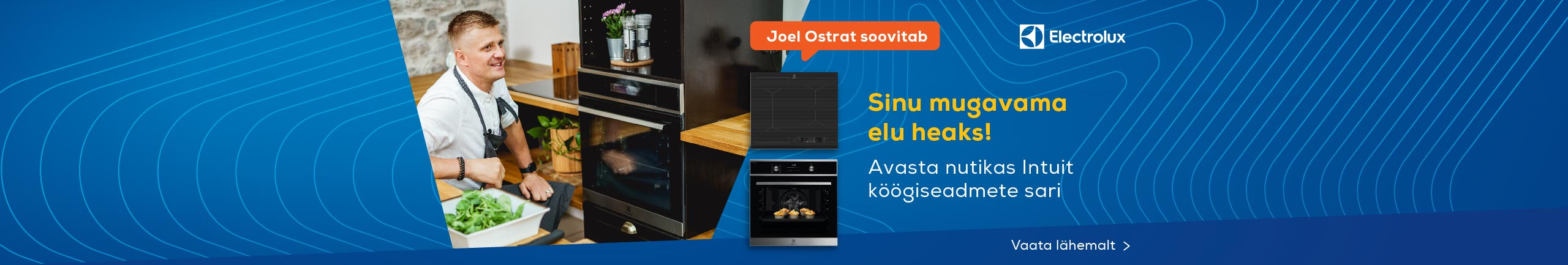 Electrolux Intuit - Discover smart built-in home appliances