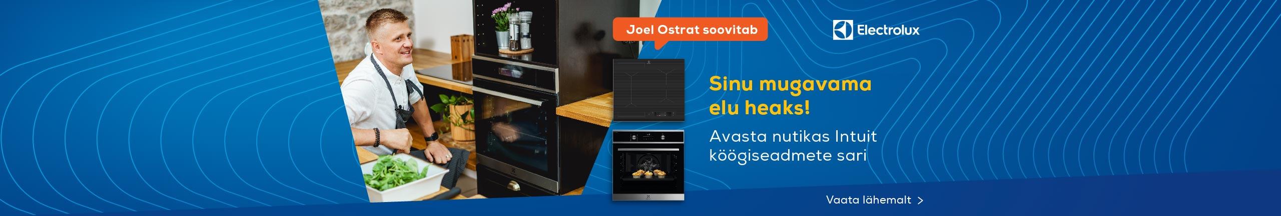 Electrolux Intuit - avasta nutikas integreeritud köögiseadmete sari