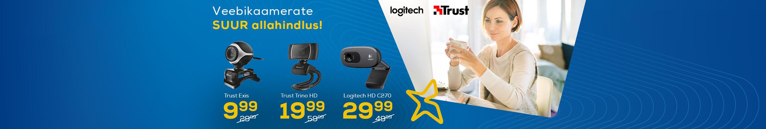 Sale for webcameras