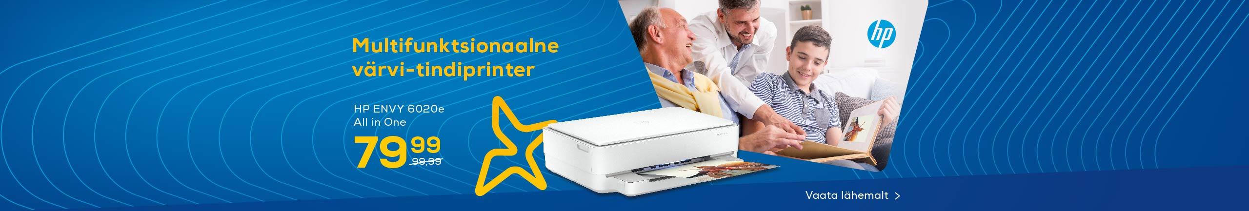 Multifunktsionaalne värvi- tindiprinter HP ENVY 6020e All in One